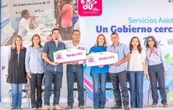 Un Gobierno Cerca de Ti, continúa recorriendo Tamaulipas acercando servicios y apoyos gratuitos a familias.