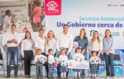 Lleva Gobierno del Estado y DIF Tamaulipas un Gobierno Cerca de Ti a familias del Sur de la entidad.