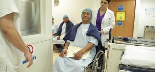 Gobierno del Estado y DIF Tamaulipas llevaron campaña oftalmológica a familias de Valle Hermoso.