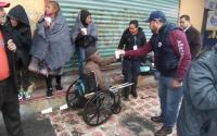 Resguarda Protección Civil de Reynosa a personas vulnerables