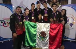 Cinco medallas para tamaulipecos en Centroamericano de Gimnasia.
