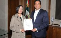 El Gobernador, Francisco García Cabeza de Vaca, nombró nueva Contralora del Gobierno de Tamaulipas