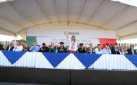 Reynosa prospera y camina hacia un futuro importante: Maki Ortiz