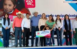Entregan Gobierno y DIF Tamaulipas equipamiento para desayunadores escolares.