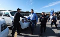 Entrega Gobernador 10 patrullas a Seguridad Pública