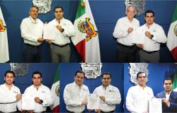 Entrega Jefe de la Oficina del Gobernador nuevos nombramientos en diversas dependencias