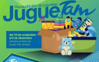 """En esta navidad regala sonrisas con el """"JUGUETAM"""" de Jóvenes Tamaulipas."""
