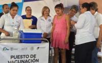 Aplican 620 mil dosis contra la influenza en Tamaulipas.
