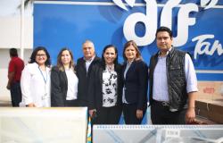Organizaciones sociales de Tamaulipas reciben equipamiento y apoyos del DIF Estatal.