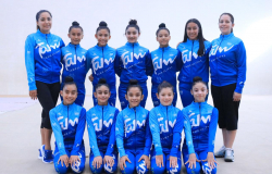Compiten gimnastas tamaulipecas en torneo internacional.