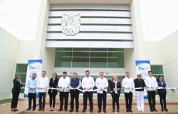 Inaugura Gobernador Centro Integral de Justicia número 11.