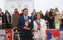 Refrendan Gobernador de Tamaulipas y Presidenta del Congreso de Estados Unidos lazos de fraternidad entre los dos países.