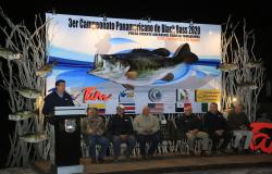 Inaugura Gobernador Torneo Panamericano de Pesca en la Presa Vicente Guerrero.