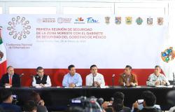 Se reúnen en Tamaulipas Gobernadores de la Comisión de Seguridad de la CONAGO.