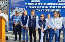 Inaugura Tamaulipas Primera Campaña de Eliminación de Criaderos y Control del Dengue 2020.