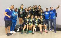 Selecciones Tamaulipas de Handball ganan dos medallas y un cuarto lugar.