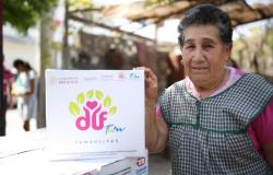 Entrega DIF Tamaulipas 75 mil apoyos alimentarios del programa Aliméntate Bien.