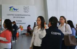 Instala Gobierno de Tamaulipas filtro permanente de prevención en edificios administrativos.