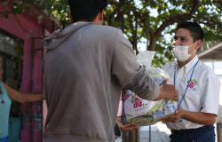 Entrega DIF Tamaulipas 3 mil apoyos alimentarios casa por casa en la entidad.