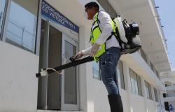 COEPRIS pone en marcha programa de sanitización en espacios públicos.