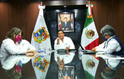 Tamaulipas, NL, Coahuila y Chihuahua coordinan acciones con Texas ante Covid-19.