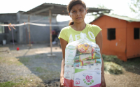 Lleva DIF Tamaulipas apoyos alimentarios a comunidades rurales.