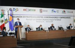 Gobiernos y Empresarios de Tamaulipas, NL, Coahuila, Durango y Michoacán hacen frente común ante COVID-19.
