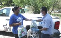 Ante pandemia, DIF Tamaulipas contribuye a la alimentación de familias de la entidad.