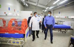 Entrega Gobernador Hospitales Temporales COVID-19 en Matamoros y Mante.