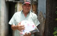 Gobierno del Estado y DIF Tamaulipas continúan entregando apoyos alimentarios durante contingencia.