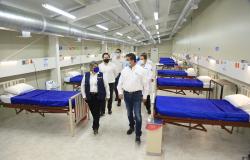 Entrega Gobernador Hospitales Temporales COVID-19 en Altamira y Victoria.