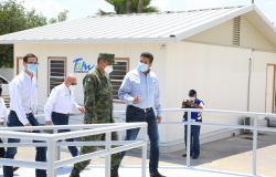 Entrega Gobierno de Tamaulipas 8 hospitales COVID-19.