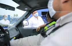Realiza gobernador gira de trabajo por Matamoros y Valle Hermoso.