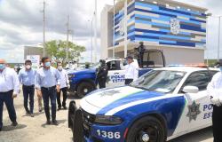 Continúa Tamaulipas fortaleciendo seguridad carretera.