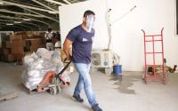 Envía Tamaulipas ayuda a familias de Yucatán y Quintana Roo afectadas por tormenta tropical.