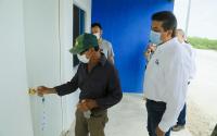 Entrega Gobierno de Tamaulipas viviendas a familia de pescadores.