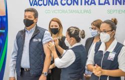 Activa Tamaulipas campaña intensiva de vacunación antiinfluenza.