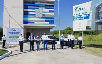 Gobernador  pone en marcha otra estación de servicio en carretera del estado.