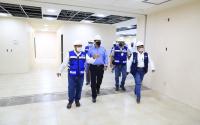 Supervisa Gobernador construcción de nuevo Hospital General de Matamoros.