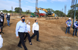 Amplía Gobierno de Tamaulipas infraestructura educativa y de salud.