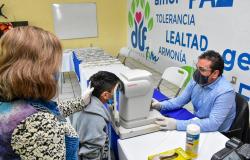 DIF Reynosa llevó campaña oftalmológica al CAMEF