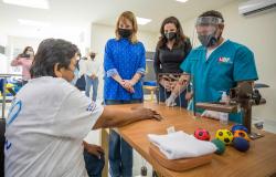 Entrega Mariana Gómez nueva Unidad Básica de Rehabilitación en Xicoténcatl.