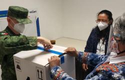 Arriba nuevo lote de vacunas anticovid a Tamaulipas.