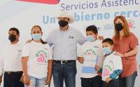 Gobierno y DIF Tamaulipas continúan acercando programas sociales a las familias más vulnerables.