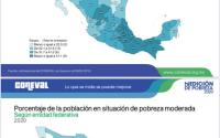 Pobreza en Tamaulipas registra importante disminución, de acuerdo con el Coneval.