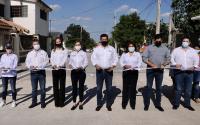 Continuará Gobierno de Tamaulipas aplicando recursos para la pavimentación de calles en municipios.