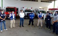 Envía Gobierno de Tamaulipas brigada especial de rescate a zonas afectadas por Grace, en el Estado de Veracruz.