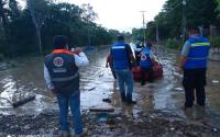 Protección Civil Tamaulipas cumple misión en Veracruz luego de afectaciones por lluvias.