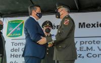 Asume el Gral. Vicente Antonio Hernández Sánchez la Comandancia de la 8a. Zona Militar.