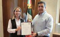 Entrega Gobernador Cabeza de Vaca nuevos nombramientos en Bienestar Social, Finanzas y Administración.